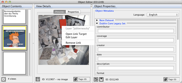 The Object Editor Window