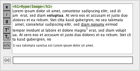Rich Text Editor