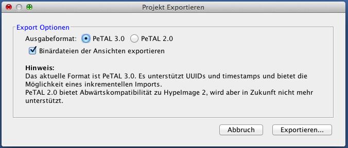 projekt_exportieren